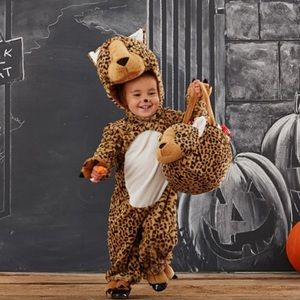 Pottery Barn Baby Leopard Costume